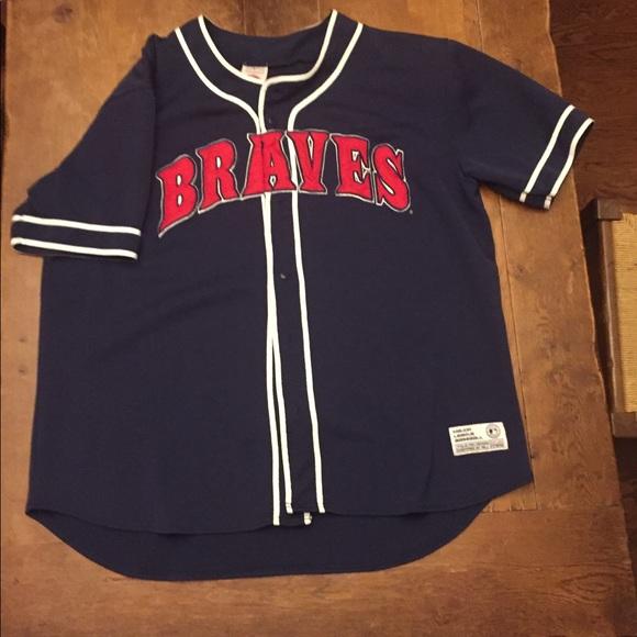b48e6f99 🔥🔥🔥Atlanta Braves MLB authentic jersey baseball.  M_5ade98be9a9455907b88ef52
